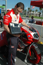 Neil Hodgson Austin Ducati Parts Unlimited Superbike