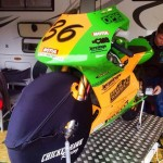 Jason Uribe at BSB races with Chicken Wrap Wheel Insulators